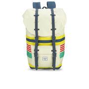 Herschel Supply Co. Little America Malibu Stripe Backpack - Stripe/Bone/Navy Rubber
