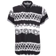 AKA Men's Milan Shirt - Black/White
