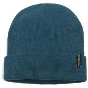 Brave Soul Men's Beanie Hat - Moroccan Blue