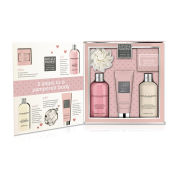 Baylis & Harding Rhubarb and Vanilla Cream 5 Piece Gift Set