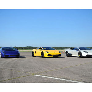 Ultimate Triple Lamborghini Driving Experience