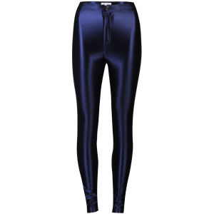Glamorous Women's High Waisted Disco Pants - Navy