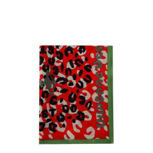 Vivienne Westwood - Accessories Women's New Leopard Scarf - Red