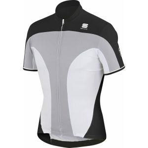 Sportful Crank 3 Jersey - Silver/White/Black