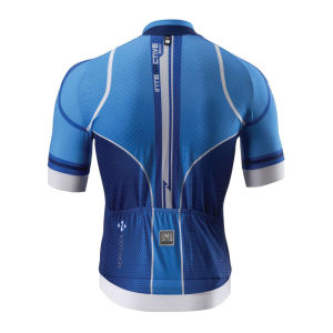 Santini Interactive Aero Short Sleeve Jersey - Royal Blue