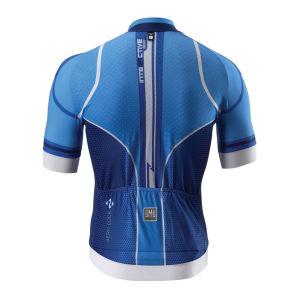 Santini Interactive Aero Short Sleeve Jersey - Royal Blue