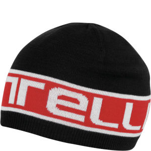 Castelli Unisex Stelvio Beanie - Black/Red