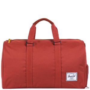 Herschel Novel Knitted Duffle Bag - Rust