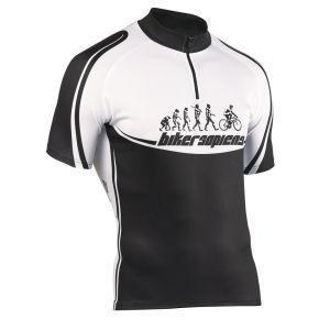 Northwave Biker Sapiens Short Sleeve Jersey - White/Black