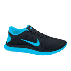 Nike Men's Free Run 4.0 Running Shoes - Black