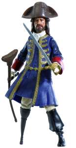 Pirates Of The Caribbean: Basic Figure Wave #1 Barbosa Figure