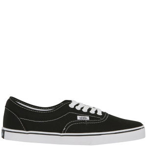 Vans LPE Canvas Trainers - Black/White