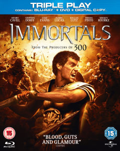 Immortals - Triple Play (Blu-Ray, DVD and Digital Copy)