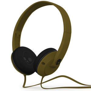 Skullcandy Uprock 2.0 Headphones with Mic - Army Green