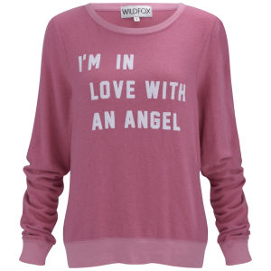 Wildfox Women's Baggy Beach Jumper - Roller Pink