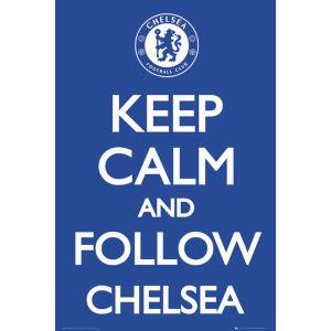Chelsea Keep Calm - Maxi Poster - 61 x 91.5cm