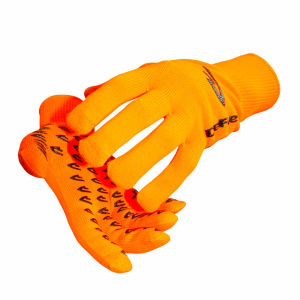 DeFeet Dura Etouch Gloves - Neon Orange