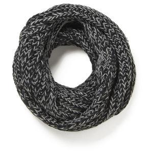 Impulse Women's Neon Knitted Snood - Black