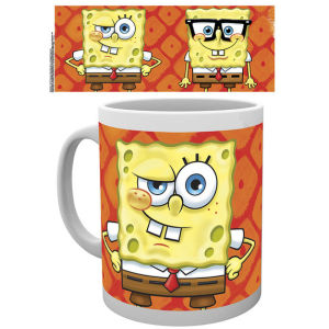 Spongebob Square Pants Faces Mug