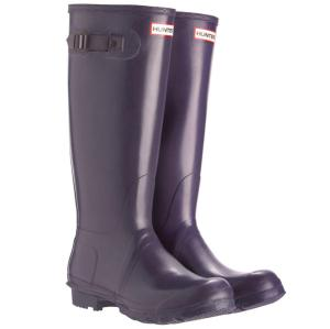 Hunter Women's Original Tall Wellies - Aubergine