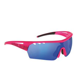Salice 006 Sports Sunglasses - Pink/Blue