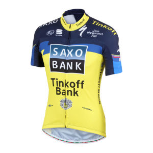 Saxo Bank Tinkoff Bank Team Pro Team Ss Jersey - 2013
