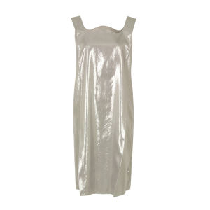 MM6 Maison Martin Margiela Women's S32CT0452 S41454 Dress - Silver