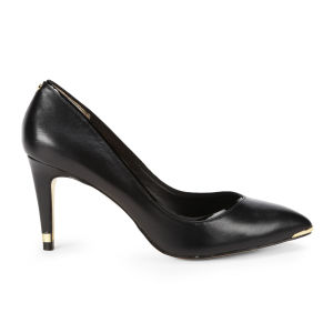 Ted Baker Women's Mitila Leather Court Shoes - Black