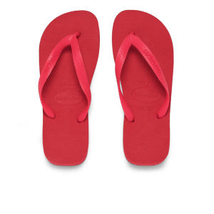 Havaianas Unisex Top Flip Flops - Ruby Red