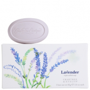 Crabtree & Evelyn Lavender Triple-Milled Soap (3X85G)