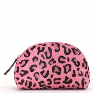 Lilifi Leopard Print Cosmetic Case