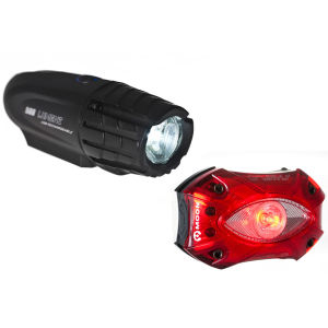 Moon XP500 Front & Shield Rear Set USB Light Set