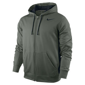 Nike Men's KO Full Zip Hoody 2.0 - Dark Green