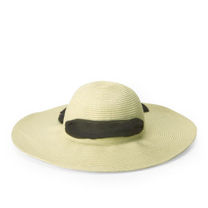 Boardman Bros Women's Floppy Sun Hat - Natural/Black