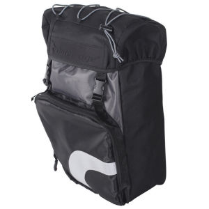 Outeredge Albatross Pannier Left Hand Bag - Large - Black/Grey