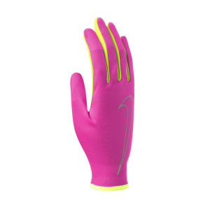 Nike Women's Rally Run Gloves - Hyper Pink/Volt