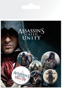 Assassin's Creed Unity Characters - Badge Pack