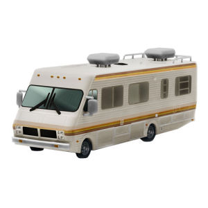 Breaking Bad 1986 Fleetwood Bounder RV 1:64 Scale Die Cast Metal Vehicle