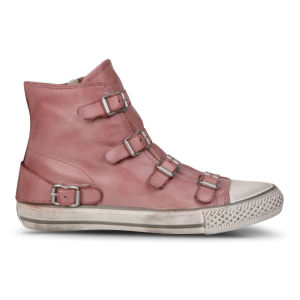 Ash Women's Virgin Leather Trainers - Rose