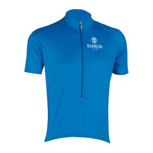 Bianchi Edoardo Short Sleeve Jersey - Blue