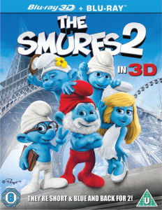 The Smurfs 2 3D - Mastered in 4K Editie (Bevat UltraViolet Copy)