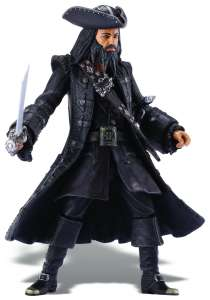 Pirates Of The Caribbean Super Deluxe Figure Wave 1 Blackbeard Figure