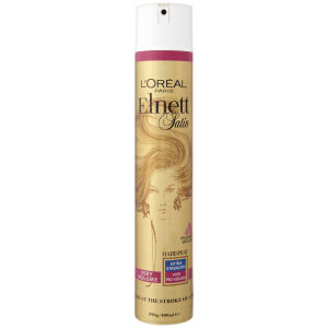L'Oreal Paris Elnett Satin Very Volume Hairspray - Extra Stength (400ml)