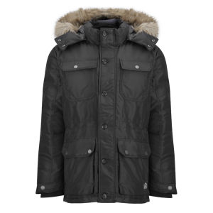 Jack & Jones Men's Shadow Parka - Black