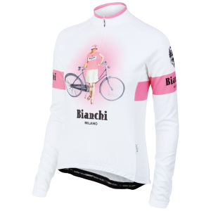 Bianchi Ramacca Women's Long Sleeve Jersey - White