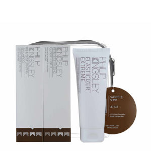 Set de productos suavizantes y brillo para el cabello Philip Kingsley Jet Set