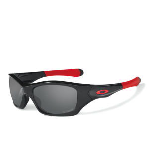 Oakley Men's Pit Bull Polished Iridium Polarized (ducati) Sunglasses - Black