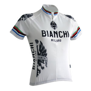 Bianchi Eddi1 Women's Short Sleeve Jersey - White