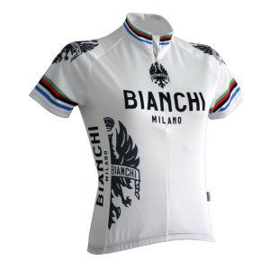 Bianchi Eddi1 Women's Short Sleeve Jersey - White