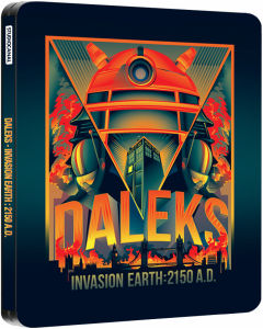 Daleks - Invasion Earth: 2150 A.D. - Zavvi Exclusive Limited Edition Steelbook (2000 Only)